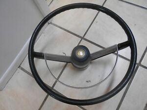 Vintage 1968 Mopar Chrysler Newport Steering Wheel