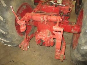 1955 Ih Farmall 300 Utility Working Fast Hitch Free Shipping Antique Tractor