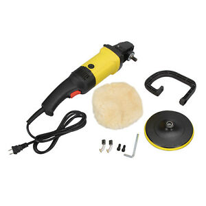 Electric 7 Polisher Variable Speed Car Waxer Sander Polisher Buffer 1200w 110v