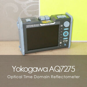Yokogawa Aq7275 Otdr Optical Time Domain Reflectometer