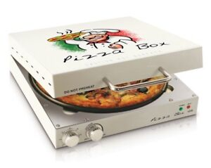 New Pizza Box Oven Cook A Restaurant Style Pizza In Your Own Home