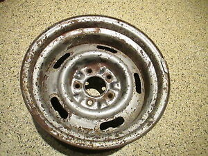 1971 Original Corvette Az 15 X 8 Rally Wheel Ralley Rim 1969 1971 1972 1973