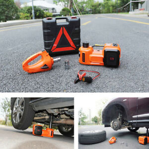 12v Dc 5t 3 in 1 Auto Car Electric Hydraulic Floor Jack Lift Impact Wrench