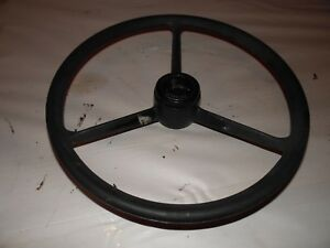 John Deere 4020 Farm Tractor Steering Wheel And Cap