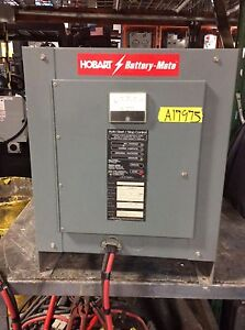 Used Charger 24 Volt 381 510ah 3 Phase Hobart Brand Tested
