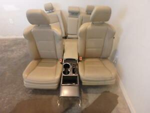 2013 2017 Acura Rdx Tan Leather Front Rear Seats W console Driver Power Heated