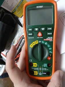 Extech Ex570 Cat Iv Industrial Multimeter And Ir Thermometer Standard