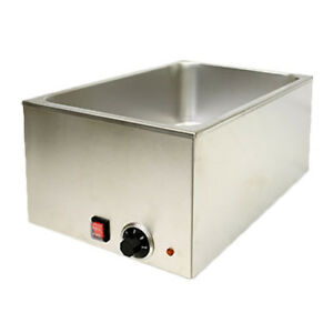 Thunder Group Sej80000c 3 1 2 Qt Stainless Steel Electric Countertop Food Warmer