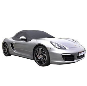 288 Porsche Boxster 981 Convertible Soft Top Roof Half Cover 2012 To 2016