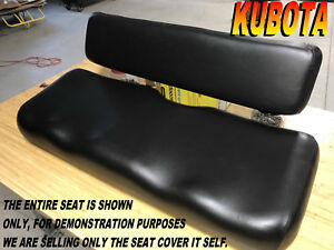 Kubota Rtv900 New Seat Cover 2006 10 Rtv 900 Black 982b