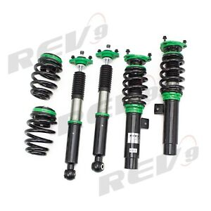 Rev9 Power Hyper Street Coilovers Lowering Suspension Bmw 3 Series E46 Rwd 99 05
