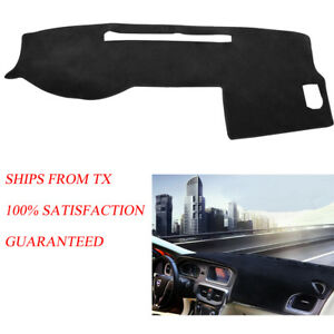 Black Dash Cover Mat Dashboard Pad For Toyota Tacoma Truck 2005 2015