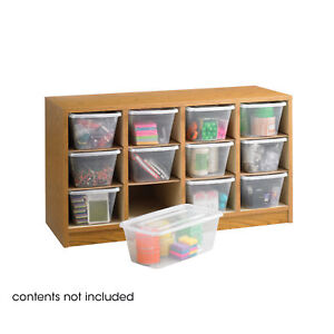 Supplies Literature Organizer With 8 Hardboard Shelves 12 Compartments