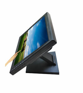 15 Stand Touch Screen Lcd Monitor 1024x768 Resolution W Vga Tft Pos