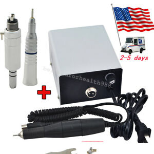 35k a 204 Dental Micro Motor Cutting Grinding Machine straight Nose Handpiece