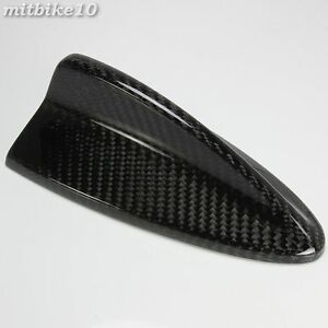Carbon Shark Fin Roof Antenna Cover Shark Pin Cover Fits Bmw E92 3 Series