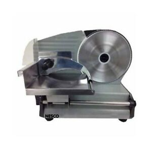 Electric Meat Food Slicer Commercial Cutter Blade Stainless Steel Kitchen Home