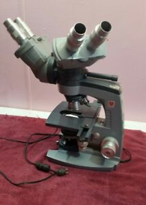 Spencer american Optical Dual Viewing Teaching Microscope W 4 Objectives