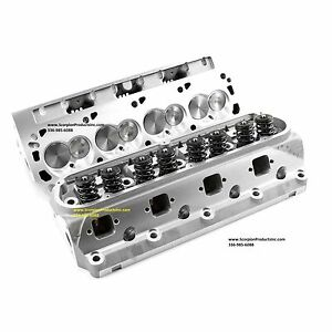 Sbf Aluminum Heads 210cc Runners Small Block Ford 289 302 351w Free Shipping