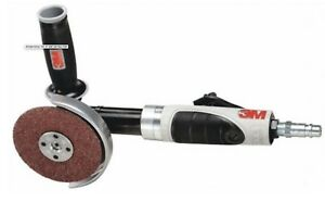 New 3m 4 Or 4 1 2 1 Hp Air Pneumatic Extended Angle Grinder 3 8 24 Spindle