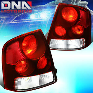 For 1999 2003 Mazda Protege Red Lens Altezza Style Tail Light Rear Brake Lamp