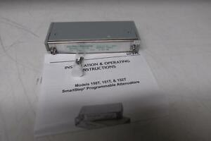 Aeroflex Weinschel Programmable Step Attenuator Model 150t 15