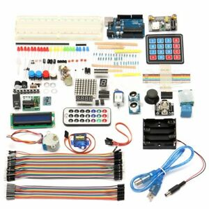 Ultimate Starter Learning Kit Diy For Arduino Uno R3 Lcd1602 Servo Processing