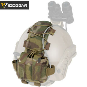 EMERSON Tactical Pouch MK1 Battery Case Helmet Pouch for Helmet Hunting Camo