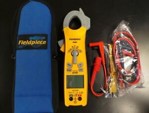 Fieldpiece Sc440 True Rms Clamp Meter With Temperature Probe In Nylon Case