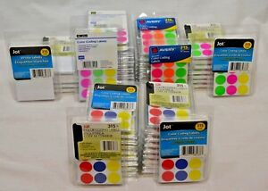 Huge Lot Over 20 000 Self Adhesive Price Dots Color Coding Labels Stickers