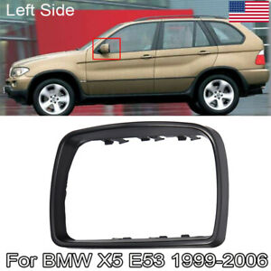 For Bmw E53 X5 1999 2006 Door Mirror Cover Cap Trim Ring Driver Side 51168254903
