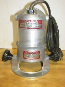 Porter Cable Model 100 m Motor With Model 100 b Base Lqqk