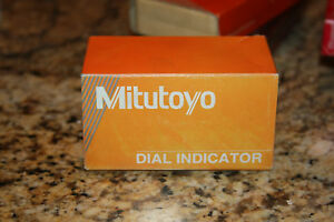Mitutoyo Dial Indicator 1506 F Dial Reading 0 50 0005 In Excellent Cond