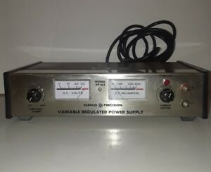 Elenco Precision Benchtop Variable Regulated Power Supply 0 To 30v Mpn Xp 655