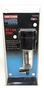 Sears Crafsman Air Drive Air Line Filter 9 16008 Nip For Air Compressor