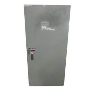 Used 800 Amp 3 Pole Asco Ats Automatic Transfer Switch 480 Volt H00300030800n10c