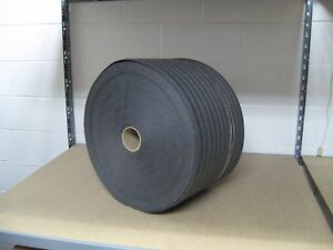 1 8 Pe Black Recycled Foam Protective Packaging Wrap 12 X 275 Per Roll