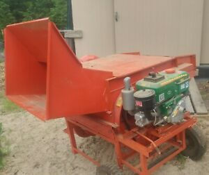 Mobil Grain Thresher Wheat oats Barley Millet Etc Small Grain Processing