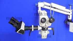 Neurosurgical Microscope 5 Step Magnification With Binocular Assistance Scope