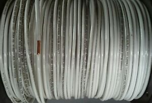 Thhn White Solid Copper Wire 10 Awg 125 Ft