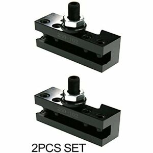 2pc Sets 250 102 6 12 Axa Quick Change Tool Post Boring Turning Holder
