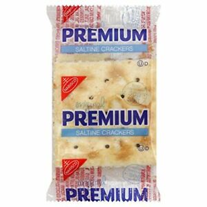 Premium Saltine Crackers 0 2 Ounce Pack Of 500 Bulk Food Wholesale Lots Catering