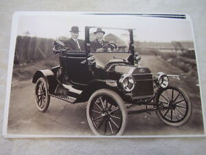 1915 Ford Model T Roadster 11 X 17 Photo Picture