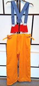 Honeywell Morning Pride Firefighter Turnout Pants W Suspenders Size 40x30
