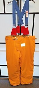 Honeywell Morning Pride Firefighter Turnout Pants W Suspenders Size 48x30