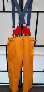 Honeywell Morning Pride Firefighter Turnout Pants W Suspenders Size 38x30