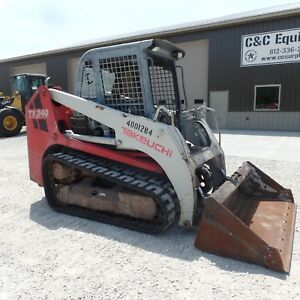 2011 Takeuchi Tl240 Tracked Skidsteer Good Shape Video