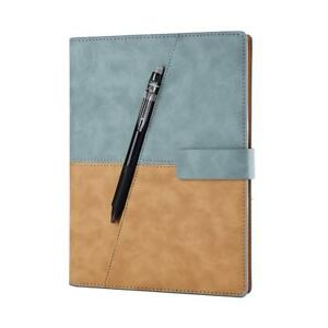 Writing Leather Spiral A5 Notebook Smart Journal Notepad Office Gift Business