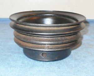 1965 1966 1967 1968 Ford Mustang Shelby Cougar Orig 289 302 P s A c Crank Pulley