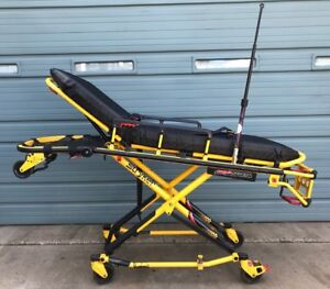 Stryker Power Pro Xt Model 6500 Ambulance Stretcher W Battery only 11 Hours